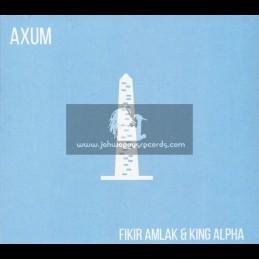 Akashic Records-CD-Axum / Fikir Amlak Meets King Alpha