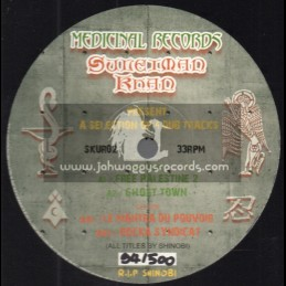 "Medicinal Records-12""-Suleïman Khan Presents 4 Dub Tracks / Shinobi"