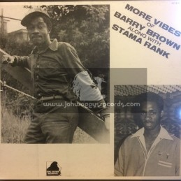 King Culture-Lp-More Vibes Of Barry Brown Along With Stama Rank