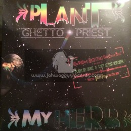 """On U Sound-Conscious Sounds-12""""-Plant My Herbs / Ghetto Priest + Lost In The Shadows / Ghetto Priest"""