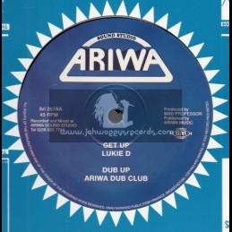 """Ariwa-12""""-Get Up / Lukie D + Black Love / Lukie D"""