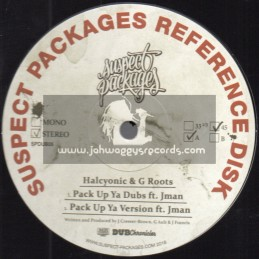 "Suspect Packages-12""-Pack Up Ya Dubs / Halcyonic & G Roots"