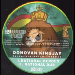"Sir Logie International-10""-National Heroes / Donovan Kingjay + Ariginal Hero / Aba-Ariginal"