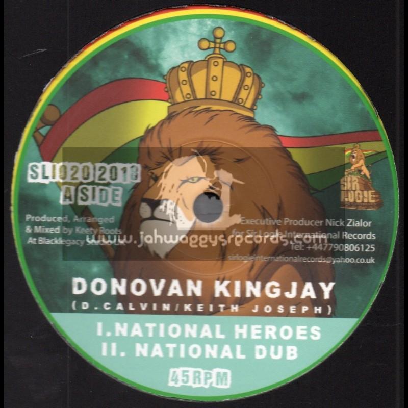 "Sir Logie International-10""-National Heroes / Donovan Kingjay + Ariginal Hero / Aba-Ariginal"