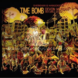 Tiger Records-Lp-Time Bomb / Devon Morgan aka Likkle Devon