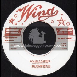 """Wind-7""""-Double Barrel / Dave And Ansil Collins + Nuclear Weapon / Ansil Collins"""