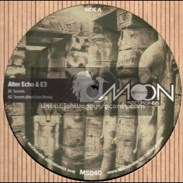 "Moonshine Recordings-12""-Secrets / Alter Echo & E3"
