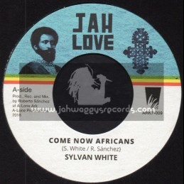 """Jah Love-7""""-Come Now Africans / Sylvan White + African Dub / Lone Ark Riddim Force"""