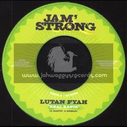 "Jam Strong-7""-Real Rasta / Lutan Fyah + Outcry In The City / Sena"