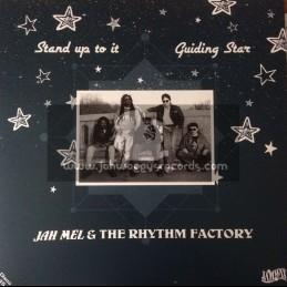 """Jamwax-12""""-Stand Up To It / Jah Mel + Guiding Star / Jah Mel"""