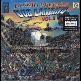 Greensleeves Records -Double-Lp-Linval Presents Dub Landing Vol 2 / Various Artist