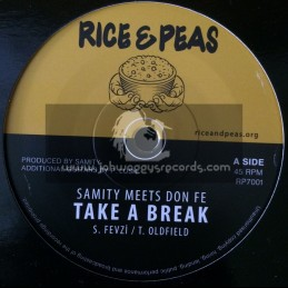 "Rice & Peas-7""-Take A Break / Samity Meets Don Fe"