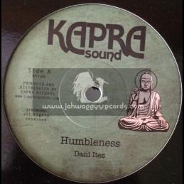 "Kapra Sound-7""-Humbleness / Dani Ites + Humbleness Dub / Dennis Capra"