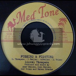 """Med Tone-7""""-Fussing And Fighting / Linval Thompson"""
