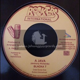 "Rockers International-7""-A Java / Blacka T"