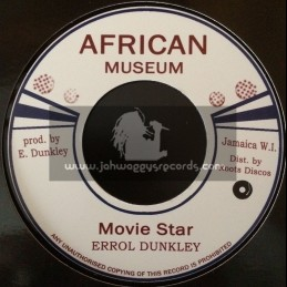 "African Museum-7""-Movie Star / Errol Dunkley"