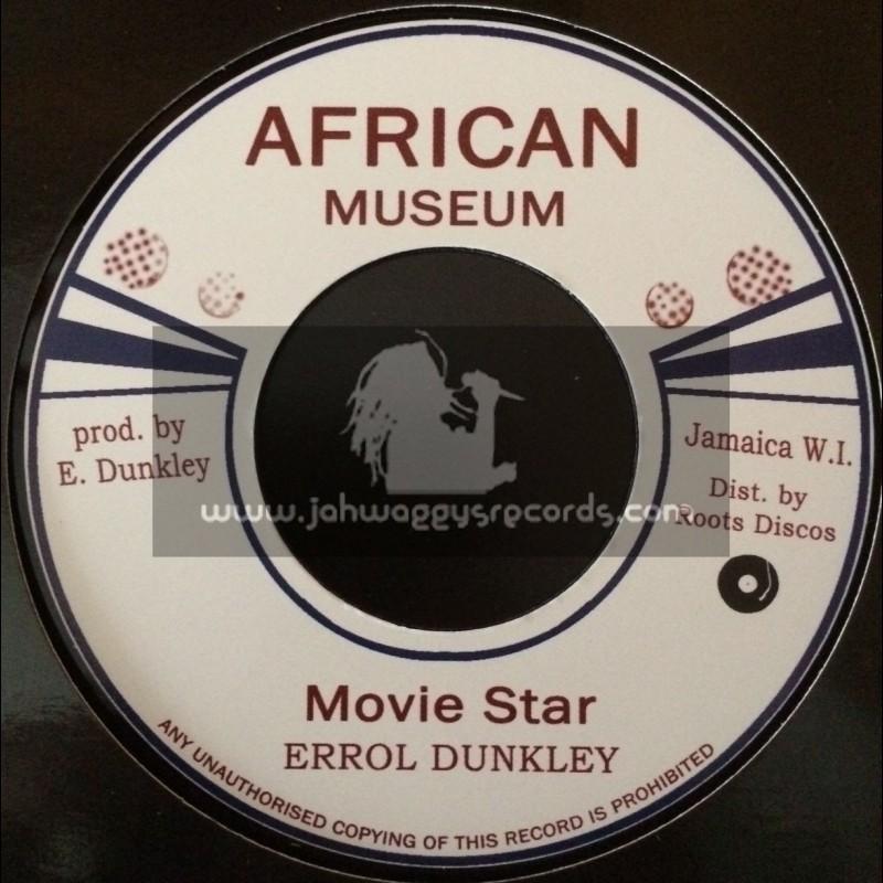 "African Museum-7""-Movie Star / Errol Dunkley"