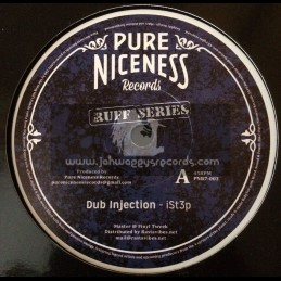 "Pure Niceness Records-7""-Ruff Series-Dub Injection / iSt3p"