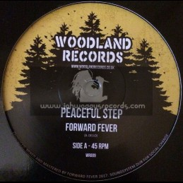 "Woodland Records-7""-Peaceful Step / Forward Fever"