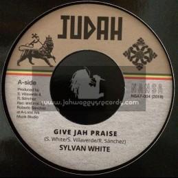 "Judah-Nansa-7""-Give Jah Praise / Sylvan White"