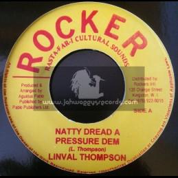"Rockers-7""-Natty Dread A Pressure Dem / Linval Thompson"