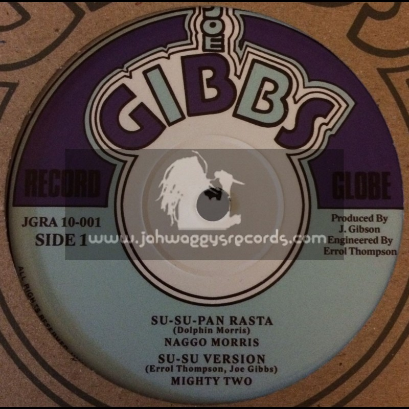 "Joe Gibbs-10""-Su Su Pan Rasta / Naggo Morris + Heavy Manners / Prince Fari"