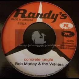 "Randys-7""-Concrete Jungle / Bob Marley And The Wailers + Screw Face / Bob Marley And The Wailers"