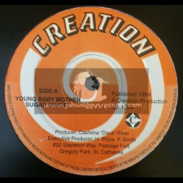 """Creation-12""""-Young Baby Mother / Sugar Minott + Young Girl Tradition / Tony Rebel"""