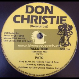 """Don Christie-12""""-Allo Tosh / Pato"""