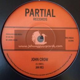 """Partial Records-7""""-Carrion Bird / Jah Rej"""