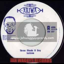 """ARIWA-7""""-THREE MEALS A DAY / LUCIANO"""