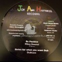 "Joy And Happiness Records-12""-Be Positive / Mikey General + Hearer Of Prayer / Luciano - Dubkasm"