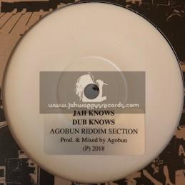 "Agobun-7""-Jah Knows / Agobun Riddim Section"