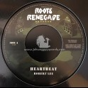 "Roots Renegade Records-7""-Heartbeat / Robert Lee"
