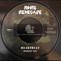 "Roots Renegade Records-7""-Heartbeat / Robert Lee"