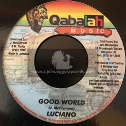 "Qabalah Music-7""-Good World / Luciano"