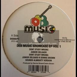 """D.E.B. Music-12""""-DEB Music Showcase Ep Vol 1"""