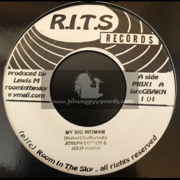 """R.I.T.S Records-7""""-Bazz Whit + Mad Ting / Salute + My Big Woman / Joseph Cotton And Julia Iasiah"""
