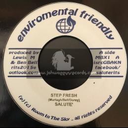 "Enviromental Friendly-7""-Fresh Step / Salute + Circle Bass / Salute"