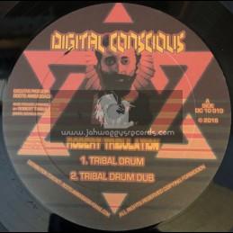 "Digital Conscious-10""-Righteous Warrior / Robert Tribulation + Tribal Drum / Robert Tribulation"