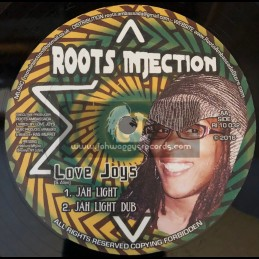 """Roots Injection-10""""-All I Can Say / Love Joys + Jah Light / Love Joys"""