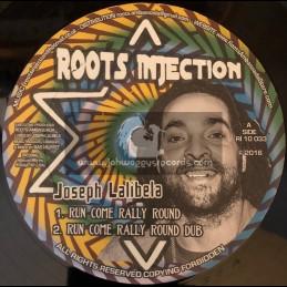 "Roots Injection-10""-Run Come Rally Round / Joseph Lalibela + Resting Place / Joseph Lalibela"