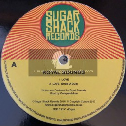 """Sugar Shack Records-12""""-Love / Royal Sounds - Limited Dubplate Mix"""