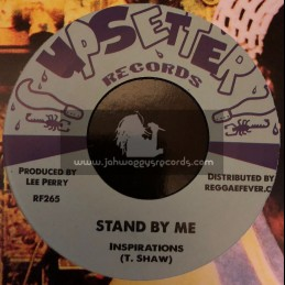 """Upsetters Records-7""""-Stand By Me / Inspirations + Serious Joke / Val Bennett & Upsetters"""