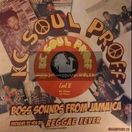 """KC Soul Proff-7""""-Cool It / KC White"""