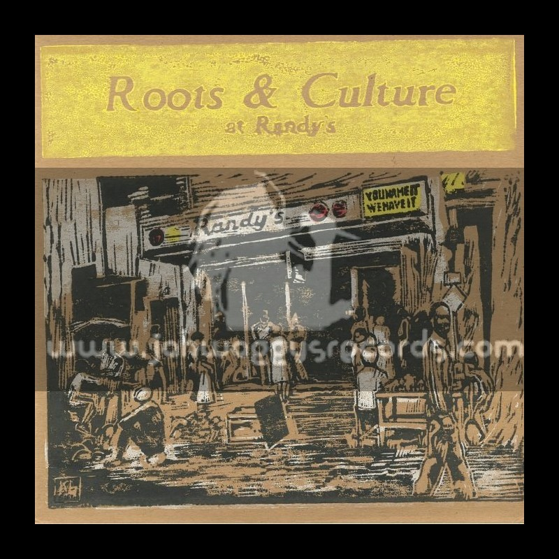 Only Roots-LP-Roots And Culture At Randys - Limited Numbered Hand Made Edition