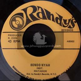 "Randys-7""-Bongo Nyah / Matador + Dreadlocks / Matador"