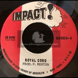 "Impact-7""-Royal Cord / P. Western"