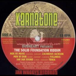 """KARNATONE(FULLNESS)-12""""-MEK WI MOVE / ZACHEOUS JACKSON + JAH JAH SOUND / TENJA + DISCIPLES REMIXES"""