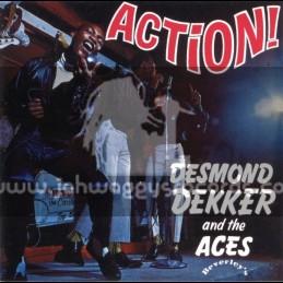 Beverleys Records-Lp-Action / Desmond Decker And The Aces